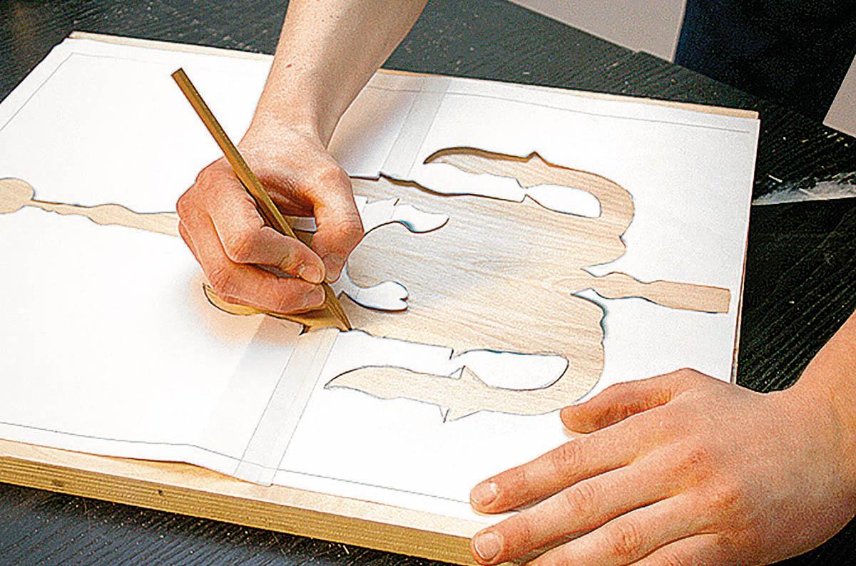 Нанесение рисунка на материалы